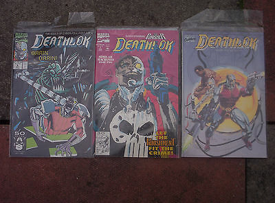 Deathlok 4 7 + Book One The Brains of the Outfit Marvel