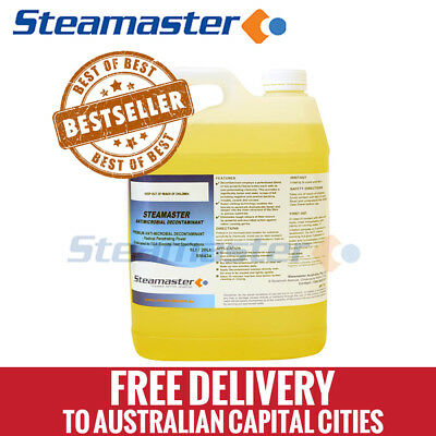 Carpet Cleaning Equipment WHOLESALE Antimicrobial Decontaminant 5L