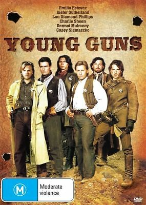 Young Guns (DVD, 2015) very good condition like new