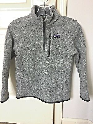 Boys Patagonia Better Sweater 1/4 Zip Small
