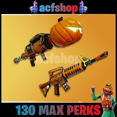 Fortnite Save the World Guns Grave Digger 106PL JackO-Launcher Max Perk Xbox PS4