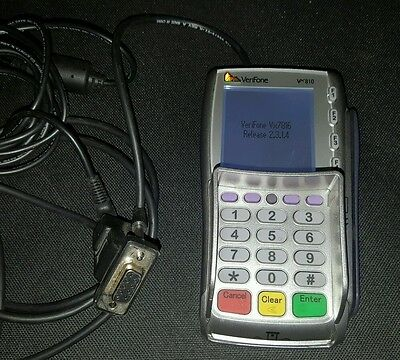Used Verifone Vx810 Serial Credit Card PDQ Terminal For Epos Ver Vx7816 2.3.1.4