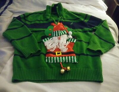 kids Christmas ugly sweater size 8