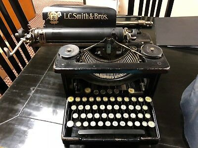 L.C. Smith and Bros Antique Typewritter