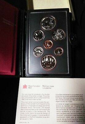 1980 Royal Canadian Mint Proof-Like Coin Set
