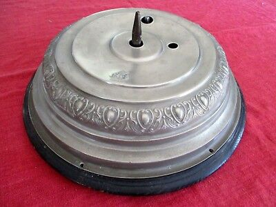 Vintage Antique Round Musical Christmas Tree Stand  Germany  Victorian