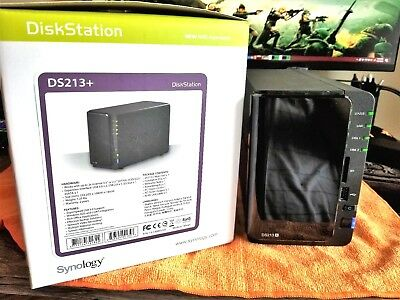 ~ Synology DiskStation DS213+ with 1.2TB included NAS Network Attached Storage