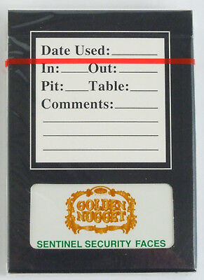 Gemaco Alpha™ Golden Nugget Casino Playing Cards Pristine Still Factory Sealed