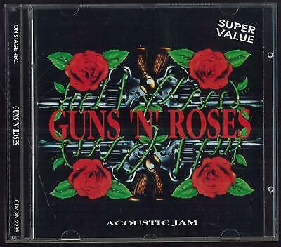 Guns N' Roses Acoustic Jam On Stage Rec. Cd/on 2235 1993 Cd Ottimo Usato