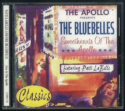 Patti Labelle And The Bluebells Live At The Apollo Cdbm 130 1998 Cd Ottimo Usato