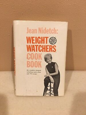 Vintage 1966 Weight Watchers Cook Book Jean Nidetch 1st Ed Wdust