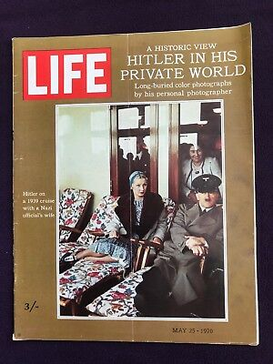 LIFE magazine May 25th 1970 HITLER Kent State Student Shootings HAIR MUSICAL