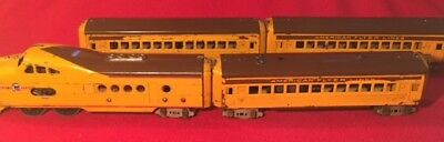 American Flyer City of Denver, Rare PreWar O Gauge Passenger Set