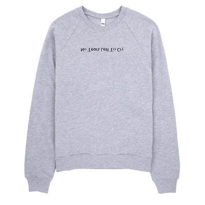 No Tears Left to Cry Ariana Grande Sweatshirt Embroidered Kris Jenner Colleen