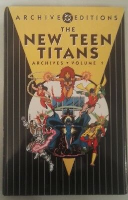 The New Teen Titans Archives Volume 1