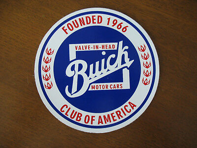 """Buick Valve-In-Head Motor Cars Club Of America 5"""" Magnet New"""