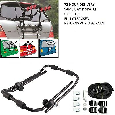 3 Bike Bicycle Carrier Car Cycle  Rear Mount for PEUGEOT 206 98-09 Triple