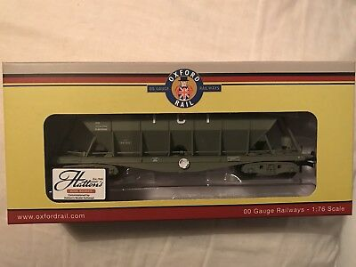 Oxford Rail Hattons ICI004A ICI Buxton Hopper wagon 19093 battleship grey - NEW