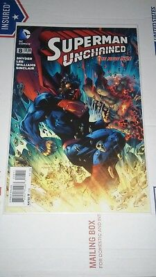 Superman Unchained (DC) #8A 2014 NM