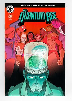The Quantum Age #1 Black Hammer Sdcc 2018 Convention Exclusive Marcos Martin Vf