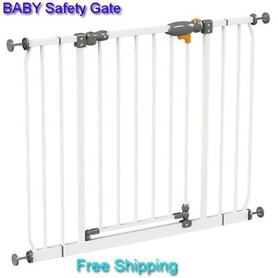 Baby Safety Gate Pet Dog Child Door Stair Adjustable Security Gate Kids Play