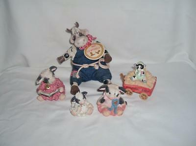LOT of 4 MARY'S MOO MOOS PLYS COWPOKES by RUSS ORIGNAL TAG ADORABLE LOT GREAT
