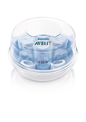 Philips AVENT Microwave Steam Sterilizer 4 Bottle