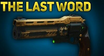 Destiny 2 The last word full quest completion same day on PS4/Pc/Xbox 1.