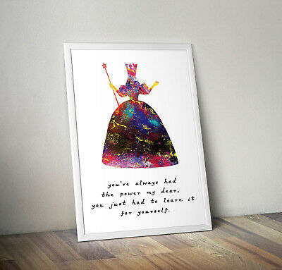 Wicked inspired musical poster print wall art gift wizard of Oz merchaindise