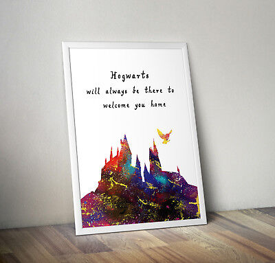 Harry potter, print, poster, Hogwarts, quote, wall art, gift, picture, dobby