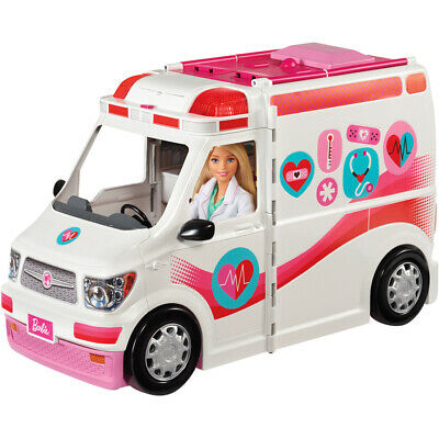 Barbie Care Clinic Van, Large Rescue Vehicle