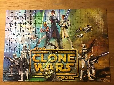 Star Wars the Clone wars Puzzle 200 Teile