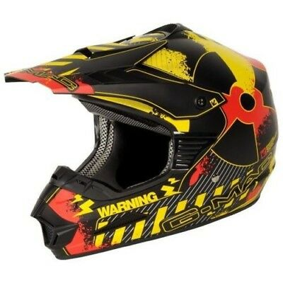 G-Mac/nitro Fission Motocross Off Road Trial Atv Mx Crash Motorcycle Helmet