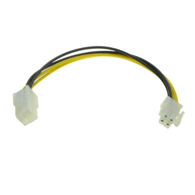 4 Pin ATX 12V P4 Male to Female CPU Power Supply Extension Cable