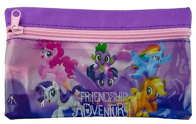 My Little Pony Flat Pencil Case Kids Girls Licensed Character School Stationery