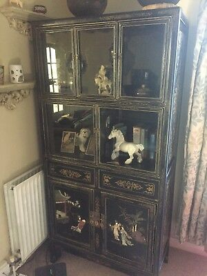 Chinoiserie Reproduction Tall Cabinet