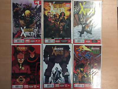 Wolverine And The X-Men #1-12 - Complete Series - Latour & Asrar
