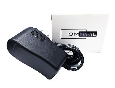 OMNIHIL Replacement AC/DC Adapter/Adaptor for Uniden Bearcat radio scanners