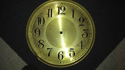 1930s Grandfather Clock Weight Driven Dial