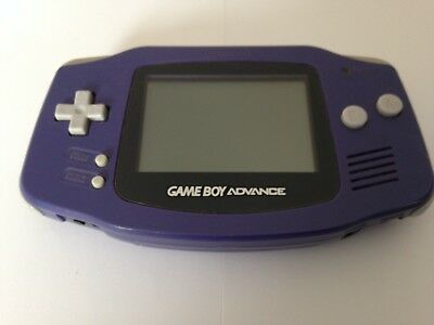 Nintendo Game Boy Advance GBA Handheld Console Purple System Worldwide Post!