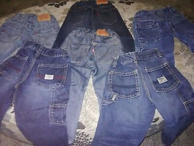 Toddler boy clothes 2t lot Levi's and Oshkosh