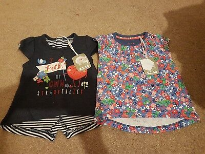 2 t shirts bnwt up to 3 months