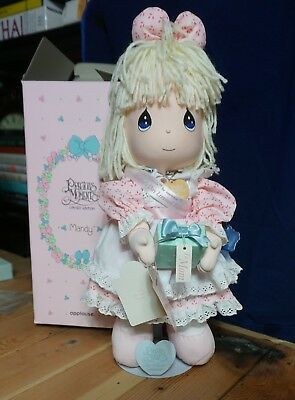 """Precious Moments Applaus """"MANDY"""" 1993 MOTHER'S DAY Doll Limited Edition with BOX"""