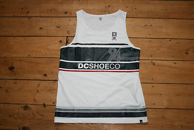 DC SHOES Tank Top - 94 - white
