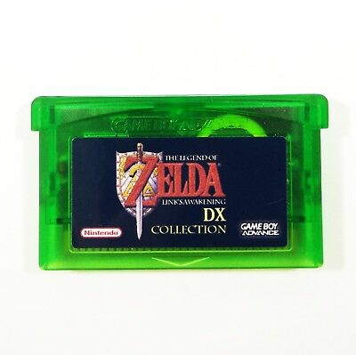 Legend of Zelda: Link's Awakening DX Collection for Game Boy Advance Custom GBA