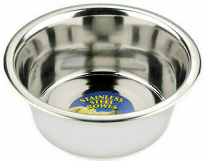 Stainless Steel Bowls Dog Cat Animal Dinner Food Water Dish