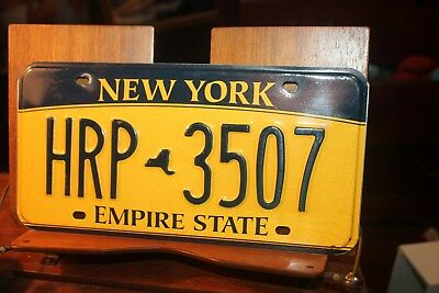 2010 New York Empire State License Plate  HRP  3507