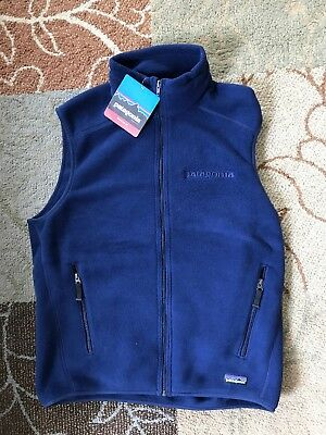 NWT Patagonia Synchilla Fleece Vest - Navy - Size Medium