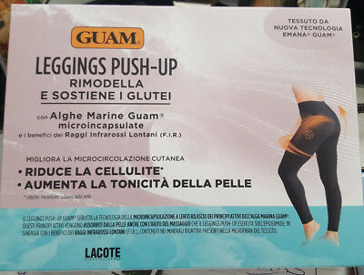 IL LEGGINGS GUAM PUSH-UP - Con Alghe Marine Guam microincapsulate, tonicità