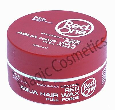 Red One Maximum Control Red Aqua Hair Wax - STRAWBERRY (Red)